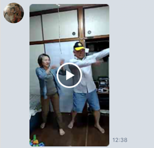 おじいちゃんおばあちゃん恋ダンス